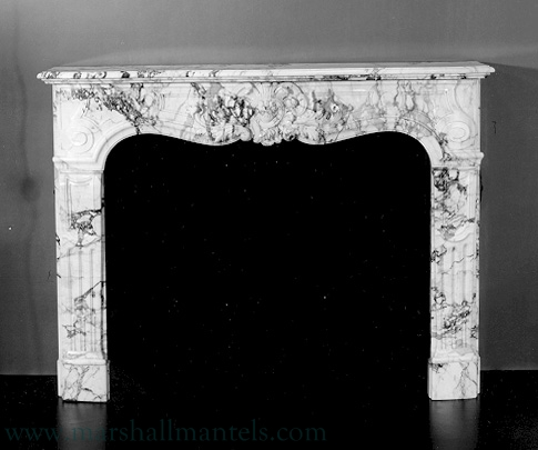 Fine Antique French Fireplace Mantels 1 Marshall Galleries Mantels