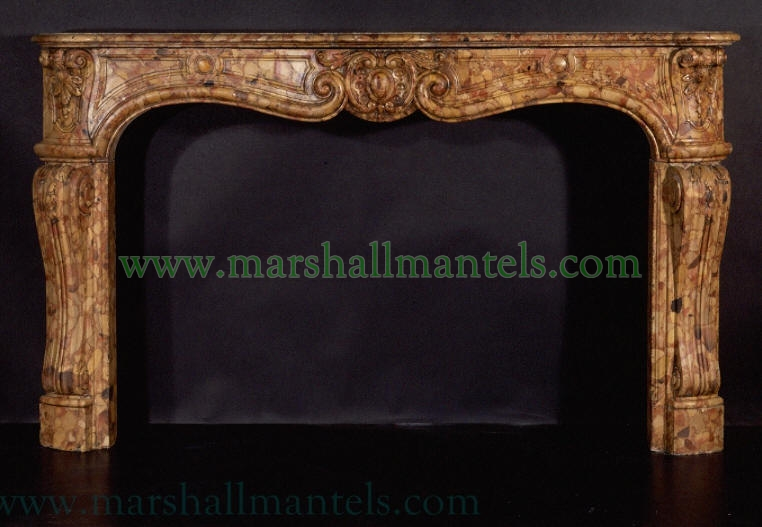 Marshall Galleries Mantels Fine Vintage French Antique Fireplace